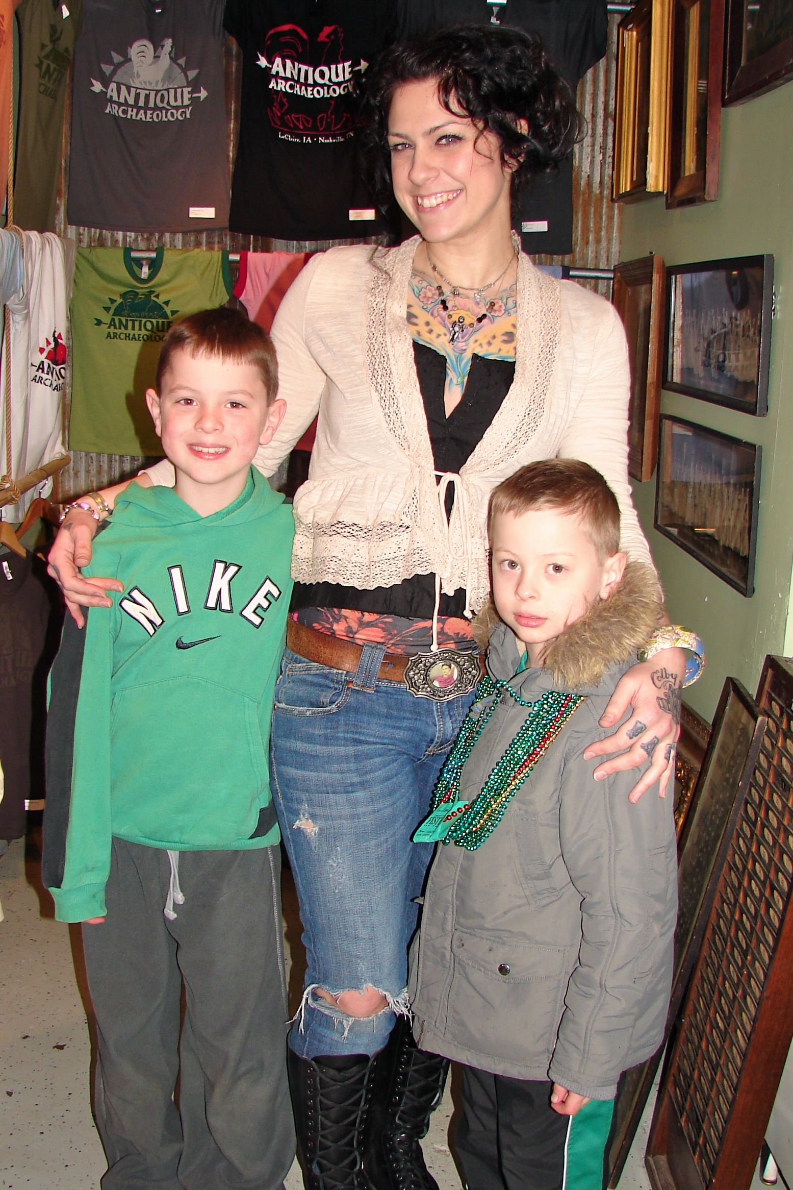 danielle with boys 2 3 danielle boy 1